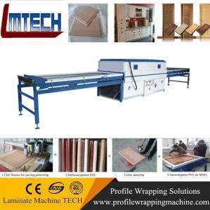 China Vacuum press machine vacuum membrane press machine with DOUBLE working table on sale