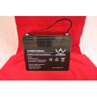 Quality Solar UPS Power Supply , 12v80ah Deep Cycle Lead Acid Battery For Emergency Lighting for sale