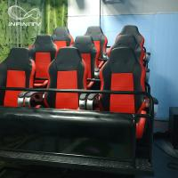 Quality Interactive Full Motion Cinema Seat / 7D 8D Game Machine Home Theater for sale