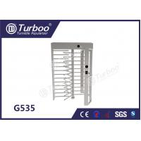 Quality CE Approved Full Height Turnstile Revolving Door 30 Persons / Min Transit Speed for sale