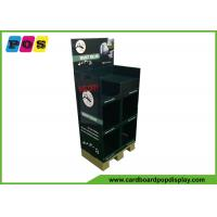 Buy Promotional 3 Shelves Cardboard Floor Display Stands For Insect Killer FL184 at wholesale prices