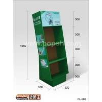 Quality Recycle Corrugated Cardboard Floor Display Portable And Eco-friendly for sale