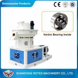 Quality High Efficiency Biomass Ring Die Pellet Machine / Rice Husk Pellets Mill Machine for sale