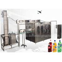 Quality Fully Automatic Energy Drink Making Machine , Industrial Carbonated Water Machine for sale