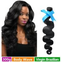 Quality Natural Virgin Brazilian Hair Extensions Long Hair Loose Wave 10inch - 30inch for sale