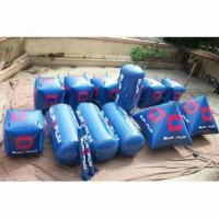 Quality Hot Sale Cylinder And Pyramid Shape Inflatable Buoys For Water Triathlons Advertising for sale