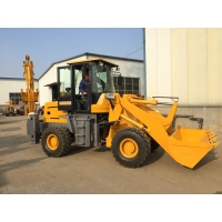 Quality 28km/H 85kw 6T Earth Excavation Machine With Backhoe for sale