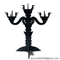 Quality CH (16) clear fake glass candelabra for sale