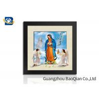Quality Religion Photo Custom Lenticular Poster 3D / 5D Decorative For Living Room for sale