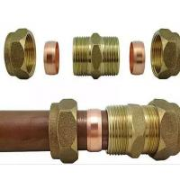 Quality Brass Connector For Solar Water Heater Copper Fittings For Solar Collector for sale