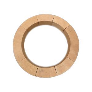Quality Laddle Lining SK-34 38% AL2O3 Kiln Refractory Bricks Fire clay bricks High alumina bricks for sale