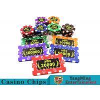 Quality Roullette Games  ABS Material  Poker Chips for sale