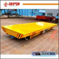 Quality Steel Industry Cable Reels Powered Transport Trailer On Rails for sale