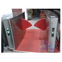 Quality Dual door access bi-directional channel electrical safe library entrance turnstile with barcode rfid interface for sale