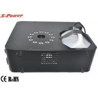 Quality Professional DMX Stage Up Fog Machine 1500 Watt With 12 * 3w RGB LED  X-01 for sale