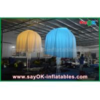 China White Club Bar Inflatable Lighting Decoration Jellyfish Nylon Cloth For Party on sale