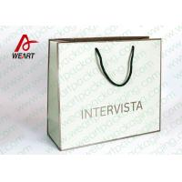 Buy cheap Handmade Custom Color Print Shopping Recycle Paper Bag with Handle , UV Finishing from wholesalers