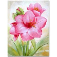 Quality flower painting wall decor art painting for sale