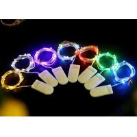 Quality Multicolor / White Battery Operated LED String Lights , Indoor Fairy Lights for sale
