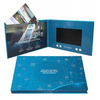 Quality Digital Promotional LCD Video Brochure Card / Custom Video Brochure 7 Inch Tft Screen for sale