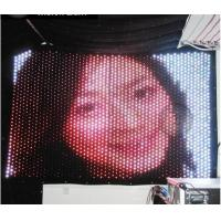 Quality DMX RGB Soft Flexible LED Curtain for Portable Backdrops Stage Decoration for sale