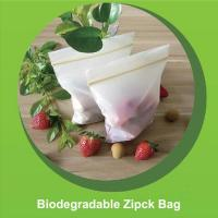 China Biodegradable Corn Starch ZipLock Plastic Bags Eco-friendly Biodegradable Zipper Bag on sale