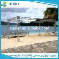 Quality Strong Exhibition Truss System , Easy Set Up Aluminum Alloy 20x20 Trade Show Booth for sale