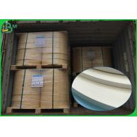 Quality Food Grade FDA 60gsm 120gsm 600mm 620mm White Straw Paper Roll For Straws for sale