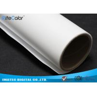 Quality Wide Format Inkjet Printable Canvas , 260gsm Matte Polyester Canvas Fabric for sale