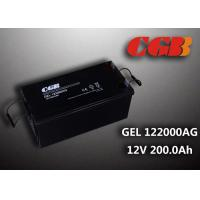 Quality Reliable safe 200AH GEL Series 12V Lead Acid Battery Rechargeable No leaking for sale