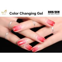 Quality Temperature Sensitive Mood Changing Gel Nail Polish No Cracks / Dulling OEM / ODM for sale