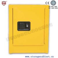China Yellow Powder Coated Flammable Chemical Storage Cabinets For Laboratory , Bench Top on sale