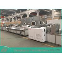 Quality CE / SGS Approved WPC Profile Extrusion Line With SIEMENS Motor Brand for sale