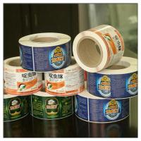 OEM Printing High Quality Custom Vinyl Roll Label Stickers, Adhesive Glossy Finish Logo Labels,Design Your Own for sale