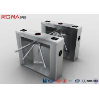 Quality Drop Arm Coin Operated Turnstile Security Gates With Reliable Entrance Solution for sale