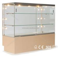 Quality Wholesale and manufacturer jewelry glass display cabinet for sale
