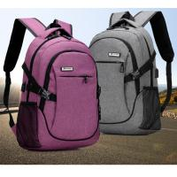 Quality Outdoor Anti Theft Business Laptop Backpack With Charger Built In / External USB System for sale