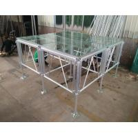 Buy 18mm Thinckess Aluminum Acrylic Portable Stage Platforms with Truss System and Tent at wholesale prices