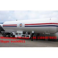 Quality Professional Chengli 3 axle 50cbm lpg tanker trailers for sale,Factory sale best price CLW lpg gas tank semitrailer for sale