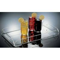 Quality customized acrylic restaurant service tray for sale