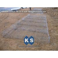 Quality Eco-friendly Flexible Gabion Box And Gabion Mattress Protecting Falling Rocks for sale