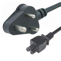 Quality Laptop Power cord cables with Indian standard 3-pin plug, AC adapter input cord for sale