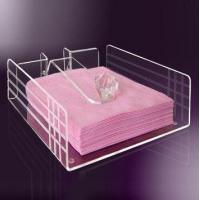 Quality High Quality Exquisite Design Acrylic Serving Paper Tray for sale