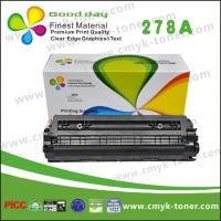 Quality CE278A HP Black Toner Cartridge / Compatible HP LaserJet P1566 1606 for sale