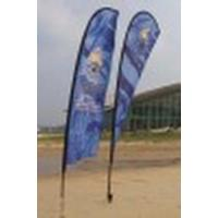Quality Flying Banner / Beach Flag for sale