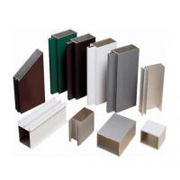 Quality Satin Anodized Aluminum Extrusion Profile , Construction aluminum extruded shapes for sale