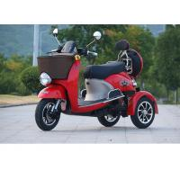 Quality 800W electric tricycle 3 wheel scooter with 60V20Ah lead-acid battery 25km/h Range Per Charge 40-60km  6-8h for sale