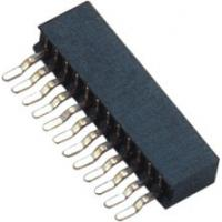 Quality 1.0mm H=3.7 Female Header Connector Single / Dual Row Current  Rating 2.0AMP for sale