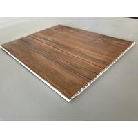Buy 10 Inch PVC Plastic Laminate Panels 2.6kg Per Sqm With Wooden Film For Ceiling at wholesale prices