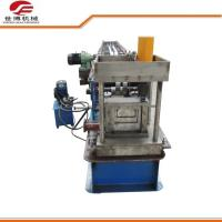 Quality Blue Color C Type Steel Purlin Roll Forming Machine For Building for sale